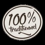100 pourcent traditionnel